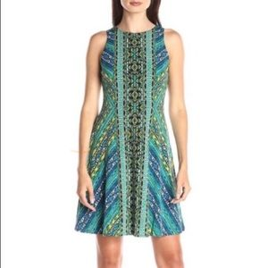 NWT Maggy London Sleeveless Tribal A-Line Dress